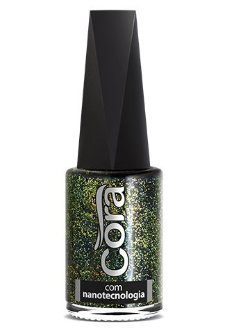 Esmalte Cora 9ml Top Glitter Big Bang
