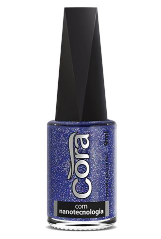 Esmalte Cora 9ml Top Glitter Earth