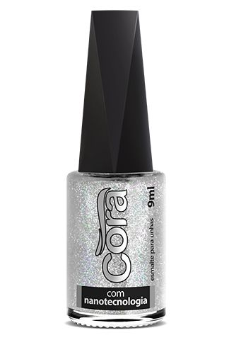Esmalte Cora 9ml Top Glitter Via Láctea