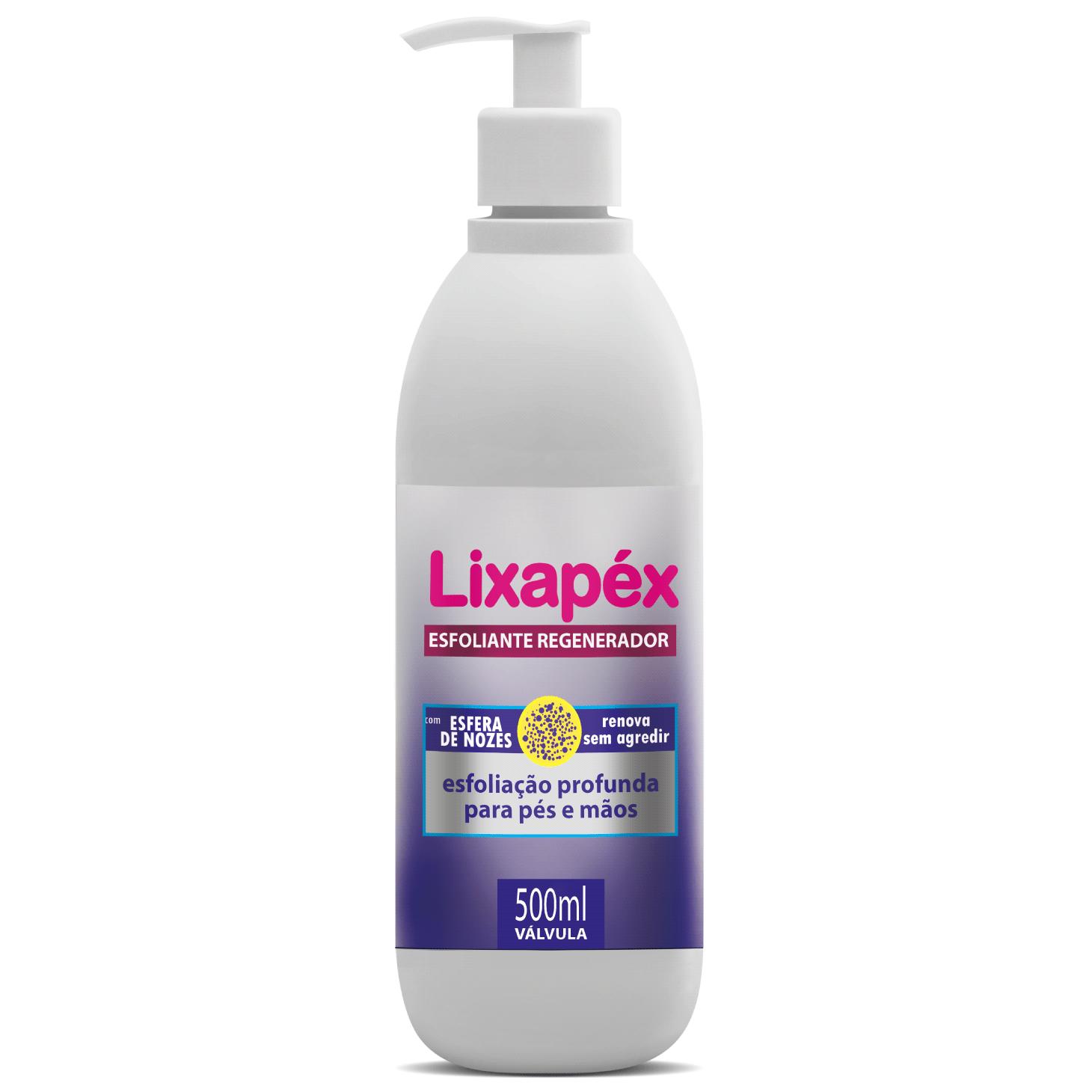 Lixapéx Esfoliante p/ Mãos e Pés Válvula 500ml
