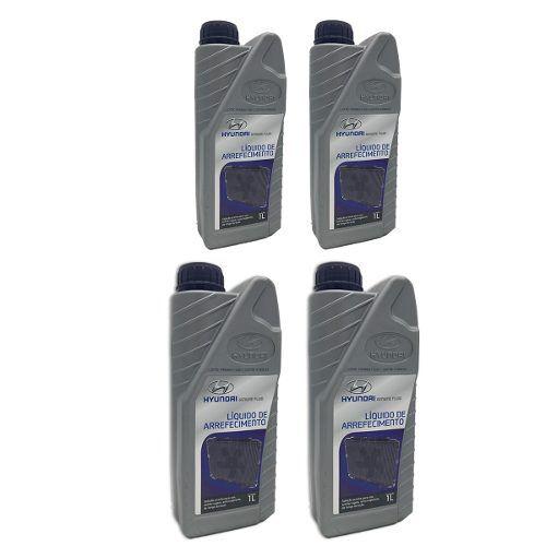 Aditivo Líquido Arrefecimento Radiador  4 L Hyundai