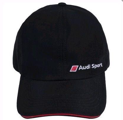 Boné Audi Sport Preto Unissex Original Audi