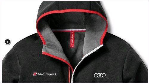 Jaqueta Com Capuz Audi Sport Masculina