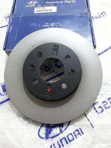 Conjunto Discos De Freio 2 Unidades Hb20 Original Hyundai