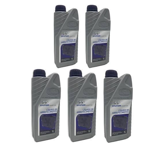 Aditivo Liquido Arrefecimento Original Hyundai 5 Litros