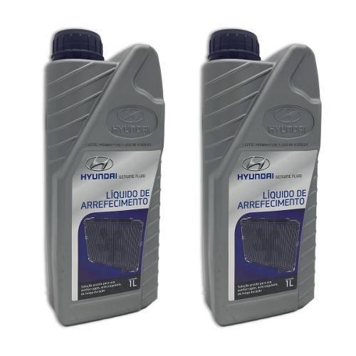 Aditivo Liquido Arrefecimento Original Hyundai 2 Litros