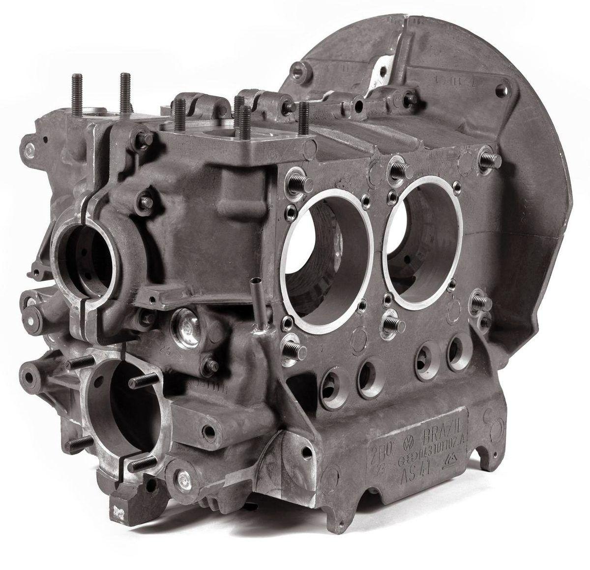 Bloco Motor De Kombi Fusca 1600 A Ar Genuína Vw