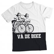 Camiseta Adulto Vá de Bike Preto MC
