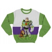 Moletom Adulto Buzz Toy Story