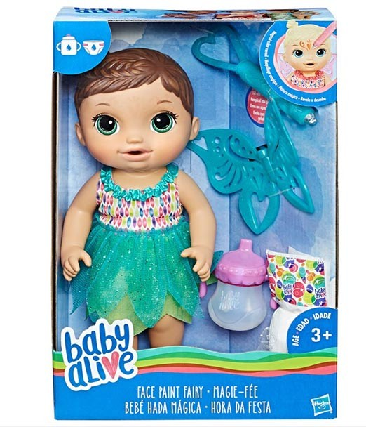 b7fc30b2c4 Boneca Baby Alive - Morena - Hora da Festa - B9724 - Hasbro ...
