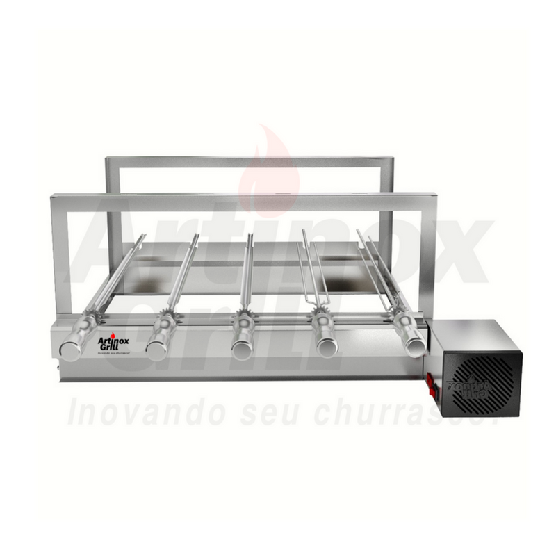 Churrasqueira Elétrica Artinox Griragrill Inox 5 Espetos
