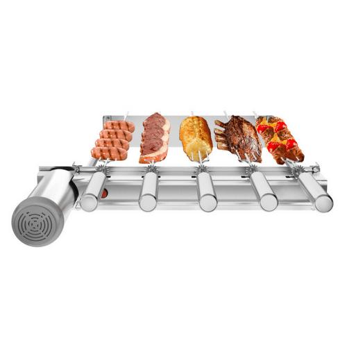 Churrasqueira Sevefort Grill Kit Baixo com 5 Espetos