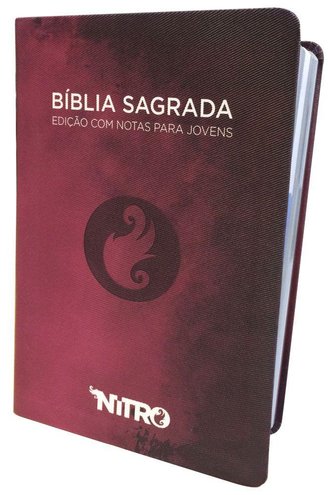 Bíblia NITRO (Rosa) - versão NTLH Edição com notas para jovens