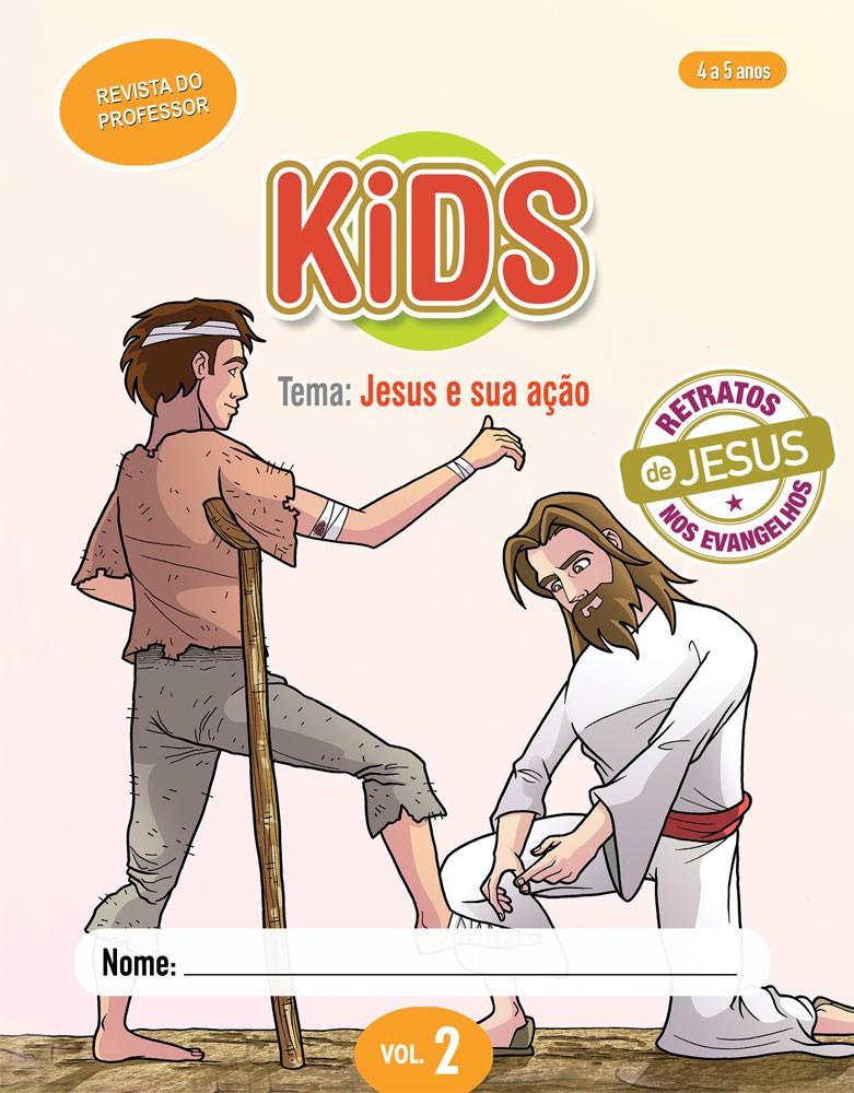 Kids 2 Professor - Jesus e sua ação