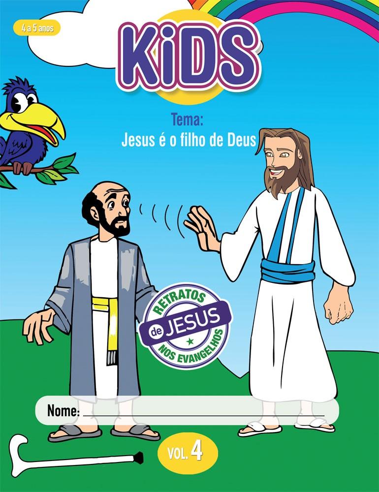 Kids 4 Aluno - Jesus é o filho de Deus