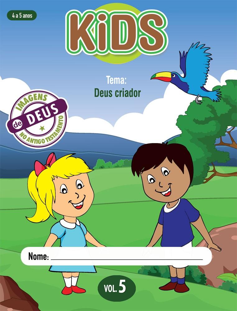 Kids 5 Aluno - Deus criador
