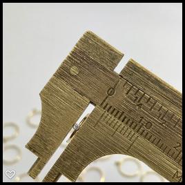 Ouro 18k Piercing Argola Ponto de Luz Cartilagem Tragus Orelha