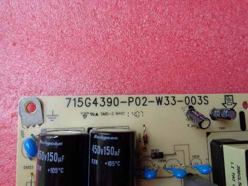 PLACA FONTE PHILIPS AOC SONY 715g4390-p02-w33-003s