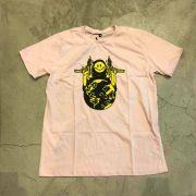 "Camiseta The Rocks ""F*ck World"" Rosa"