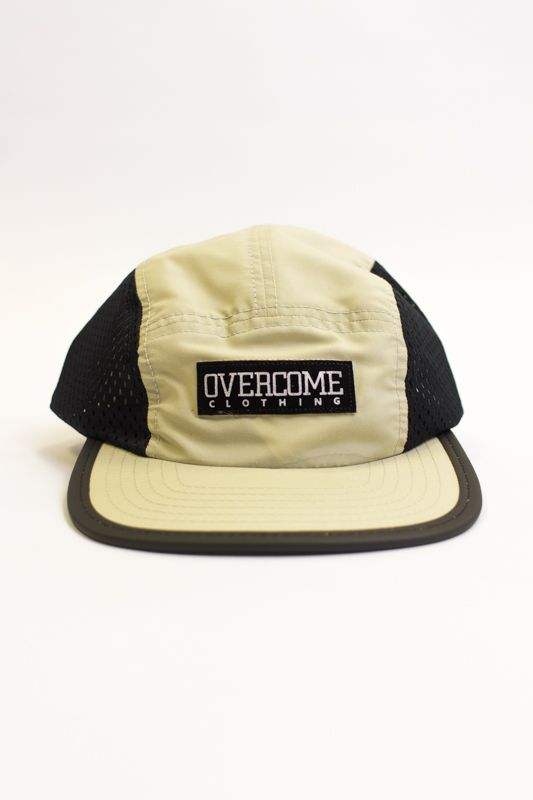 5-PANEL OVERCOME CO BEGE