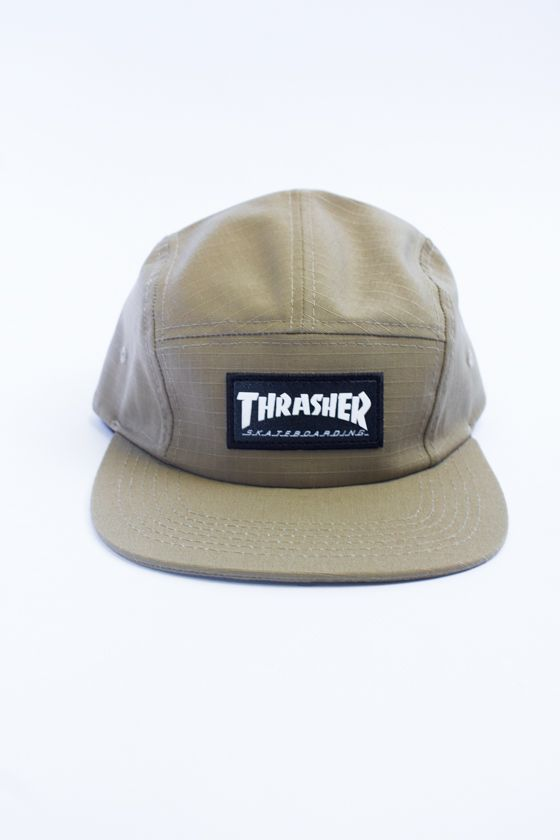 5-PANEL THRASHER BEGE
