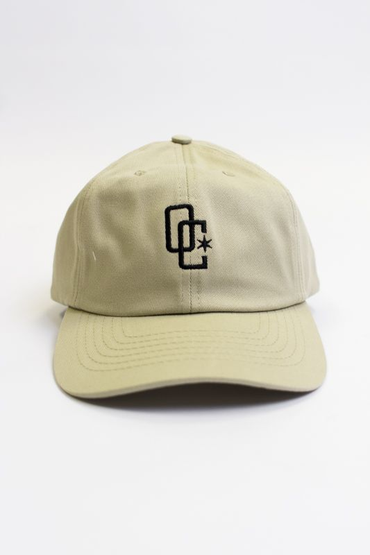 BONÉ DAD HAT OVERCOME CO BEGE