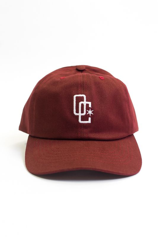 BONÉ DAD HAT OVERCOME CO BORDO