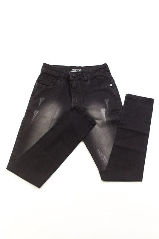 Calça Jeans Vextor Cinza