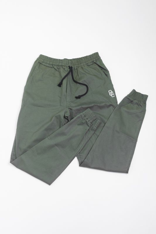 CALÇA JOGGER OVERCOME CO VERDE MILITAR
