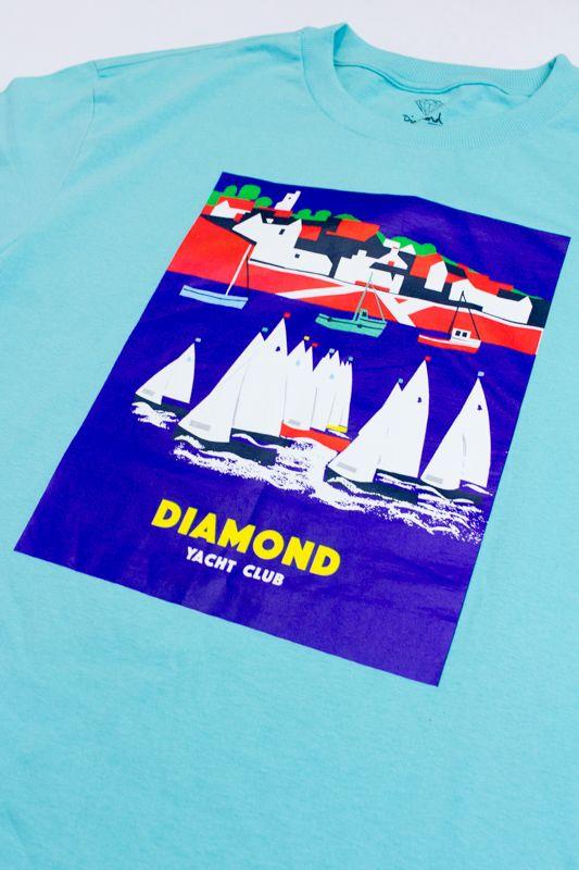 "CAMISETA DIAMOND ""HARBOR"" AZUL"