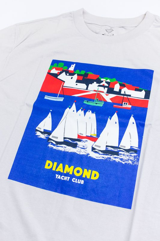 "CAMISETA DIAMOND ""HARBOR"" CREME"