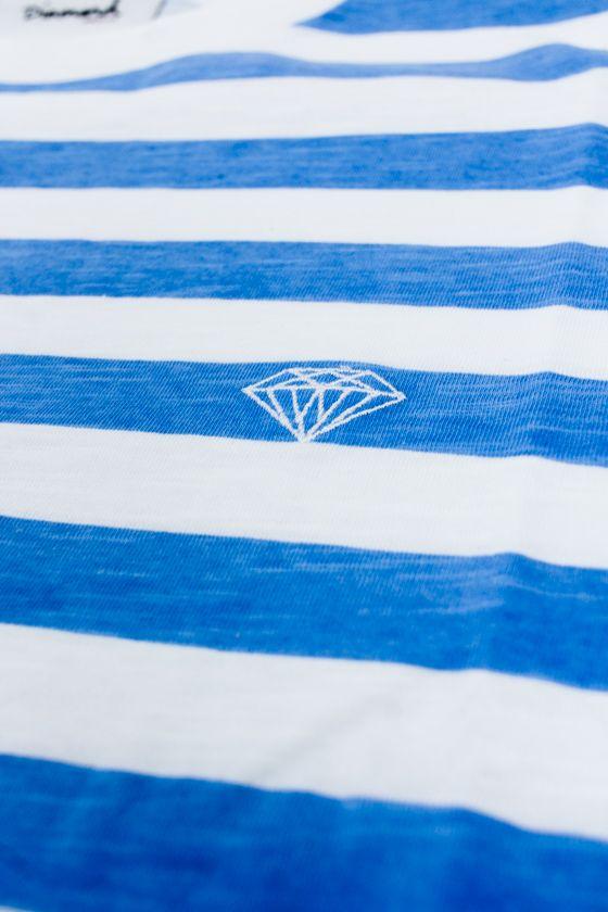 CAMISETA DIAMOND LISTRADA AZUL ESPECIAL