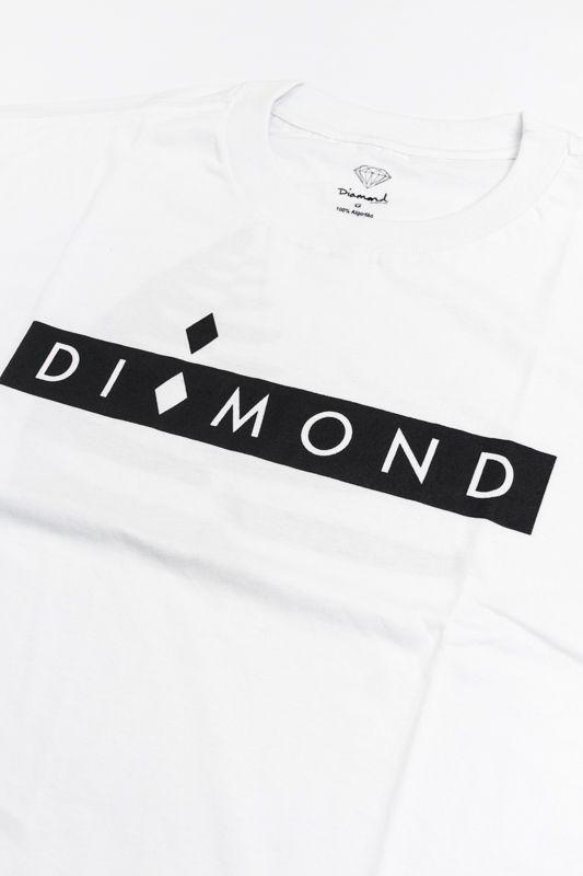 "CAMISETA DIAMOND ""STARBOARD"" BRANCA"