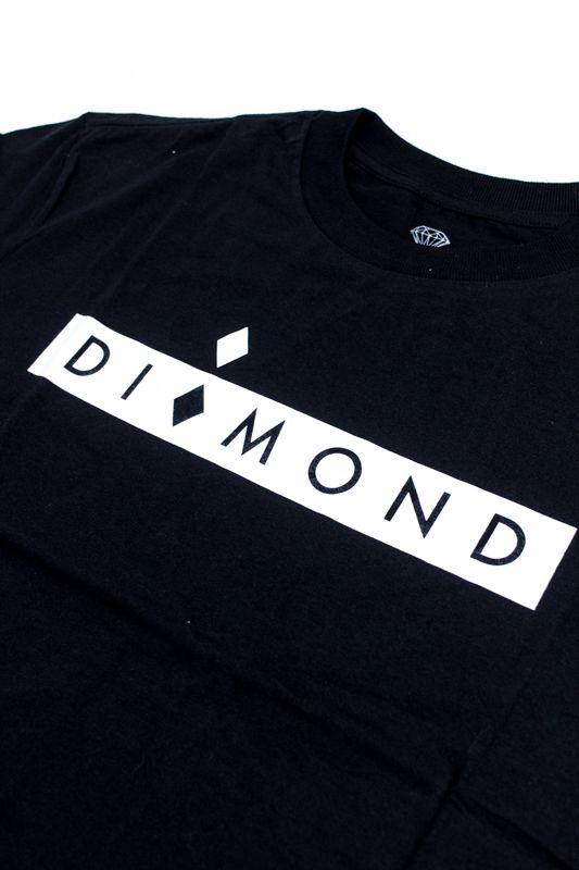 """CAMISETA DIAMOND """"STARBOARD """" PRETA"""