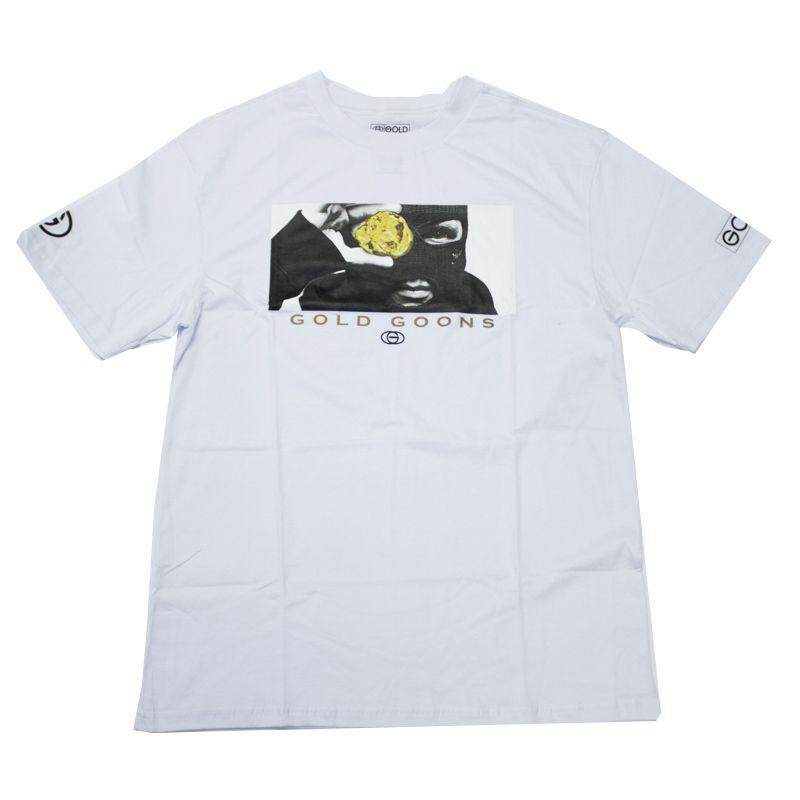 "Camiseta Gold ""Heist"" Branca"