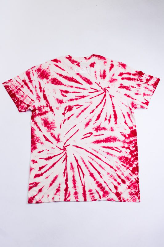 "CAMISETA GRIZZLY ""HIGH WINDS TIE DYE"" VERMELHA ESPECIAL"