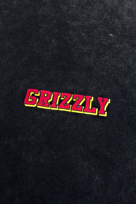 "CAMISETA GRIZZLY ""REFLECT OG"" PRETA ESPECIAL"