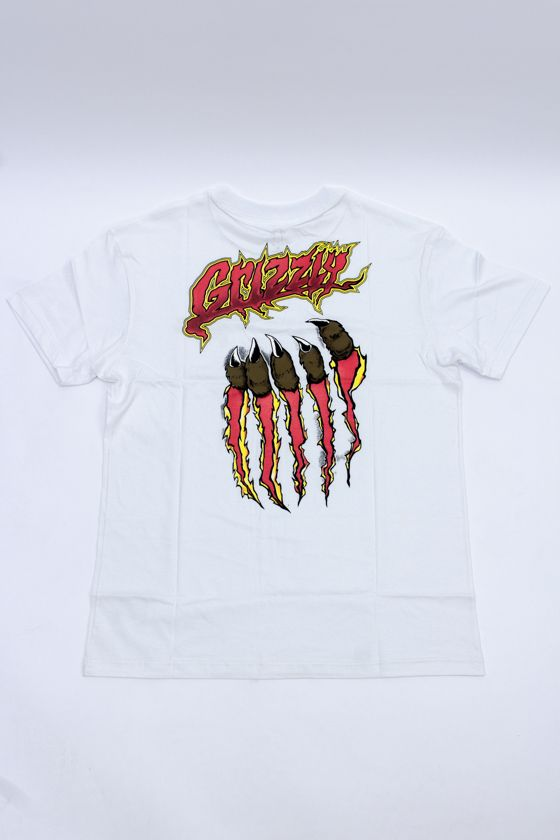 """CAMISETA GRIZZLY """"RIPPIN"""" BRANCA"""