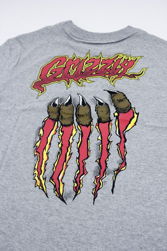"CAMISETA GRIZZLY ""RIPPIN"" CINZA"