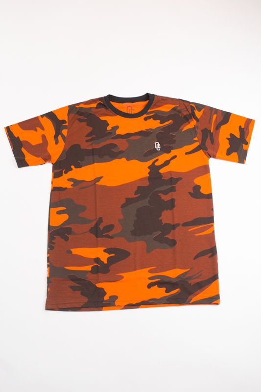 CAMISETA OVERCOME CO CAMO ORANGE