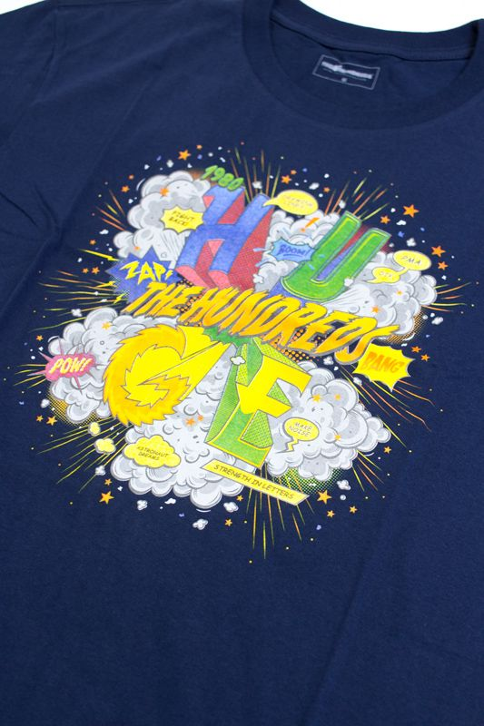 "CAMISETA THE HUNDREDS ""COMIC"" AZUL"
