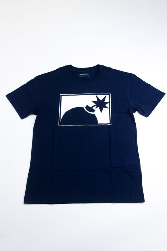 "CAMISETA THE HUNDREDS ""FOREVER HALF BOMB"" AZUL"