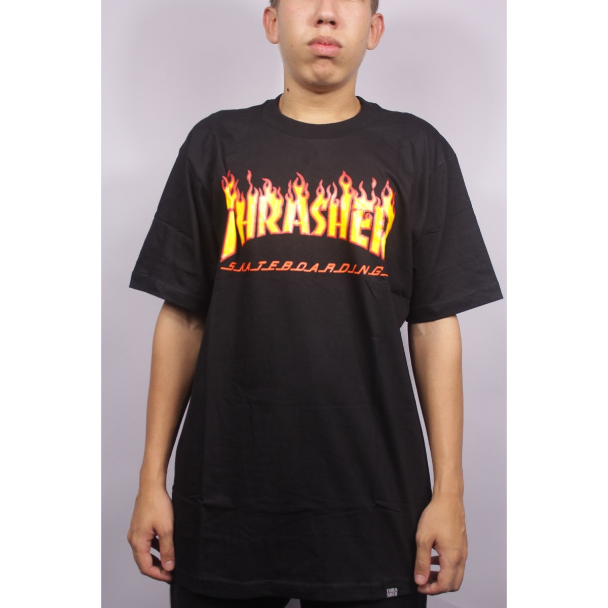 Shop customer account create/admin/Cms_Wysiwyg/directive - Camiseta Thrasher Flames