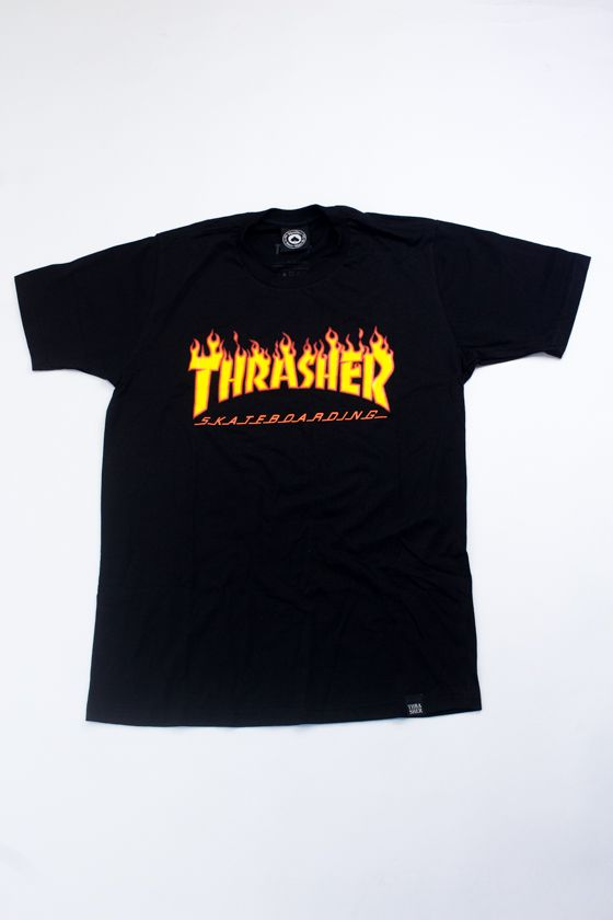 Camiseta Thrasher Flames