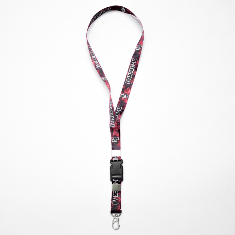 CHAVEIRO OVERCOME CO PINK CAMO