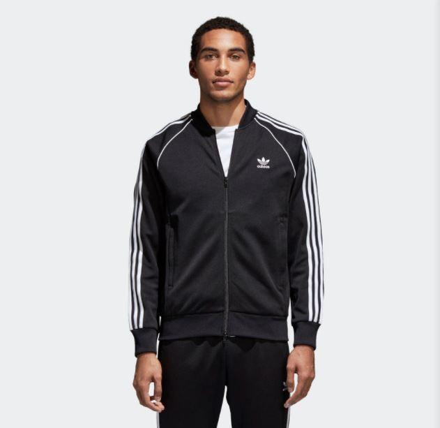 Jaqueta Adidas SST TT Preta