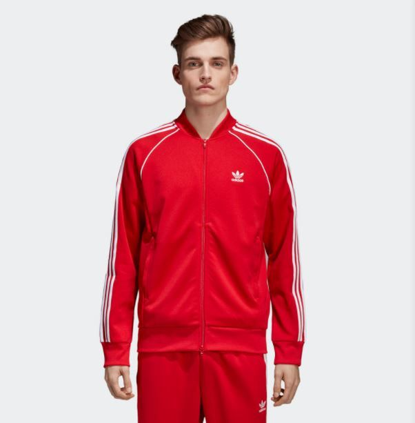 Jaqueta Adidas SST TT Vermelha
