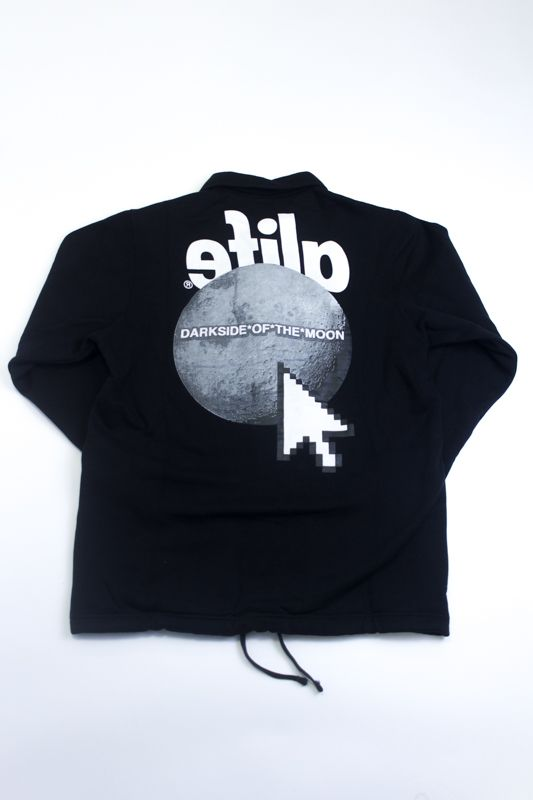 "MOLETOM ALIFE ""COLLEGE BUTTON"" PRETO"