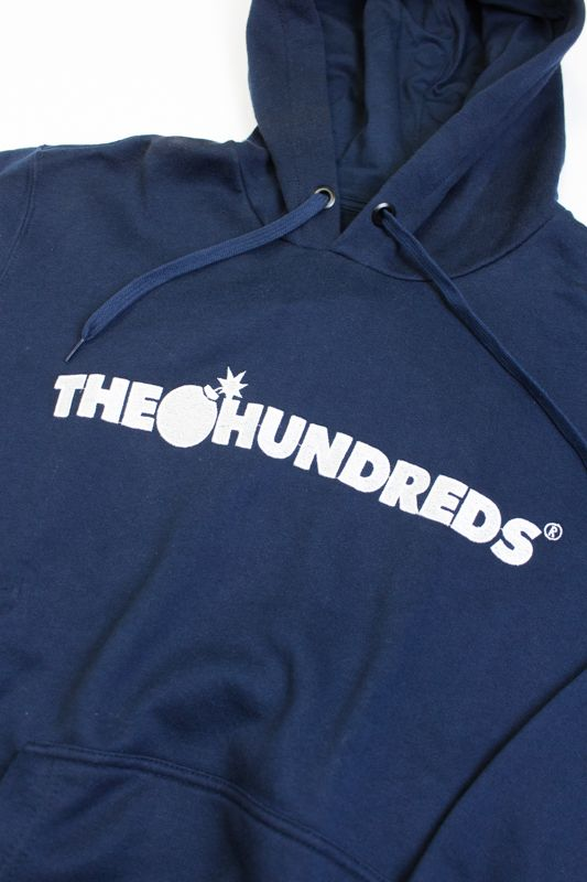 "MOLETOM THE HUNDREDS ""FOREVER BAR"" AZUL"