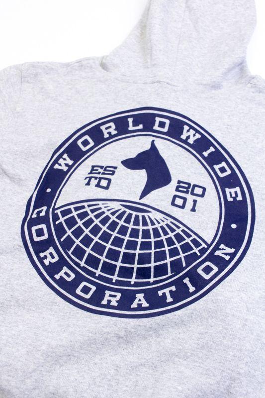 "MOLETOM THE ROCKS ""WORLDWIDE"" CINZA"